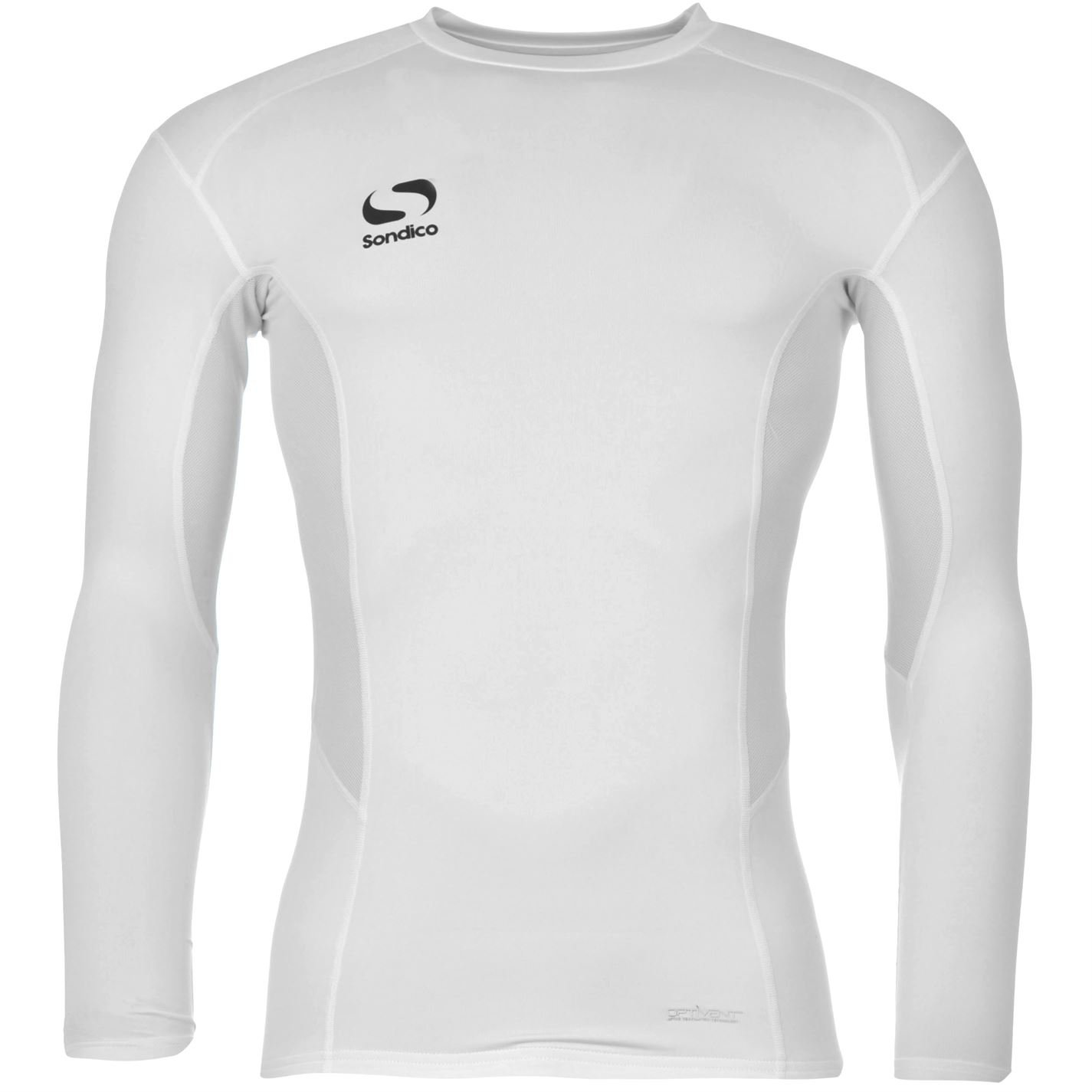 Sondico Mens Base Core Long Sleeve Base Layer Top Long Sleeve Sport Sweatshirt