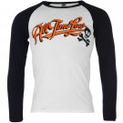 Band Tee Mens All Time Low Long Sleeve Crew Neck Casual T Shirt Top Clothing