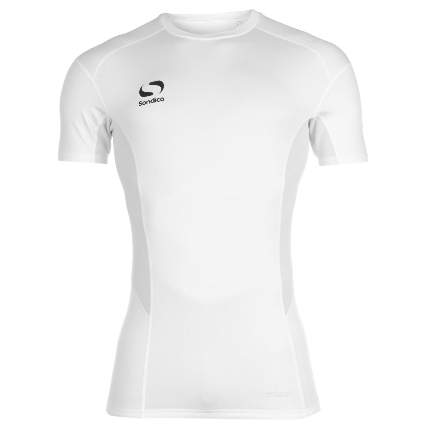 Sondico Mens Core Base Layer Top Short Sleeve Compression Fit Sports T Shirt Tee