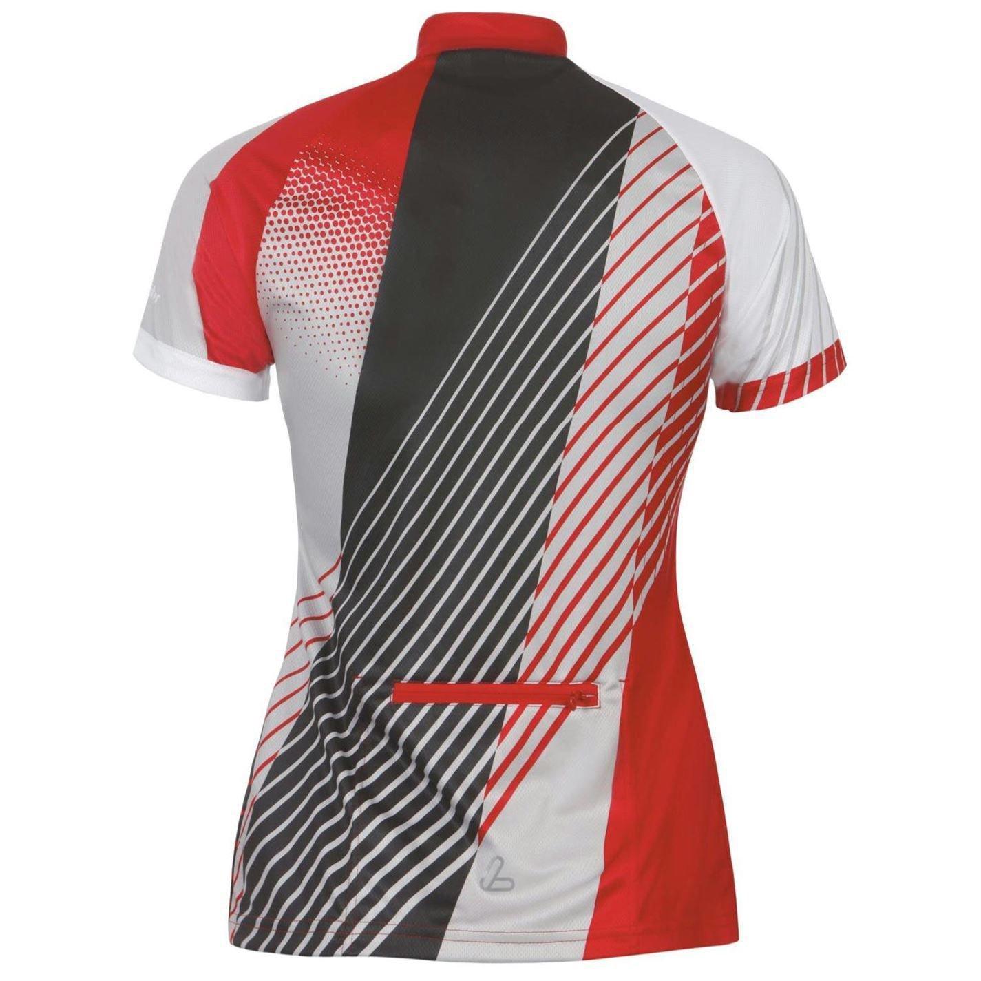 Löffler Womens Perform Jersey Ladies Short Sleeve Cycle Cycling Sports Shirt Top