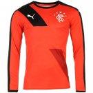 Puma Mens Rangers Football Club Training Top Long Sleeve Tee T Shirt Sports