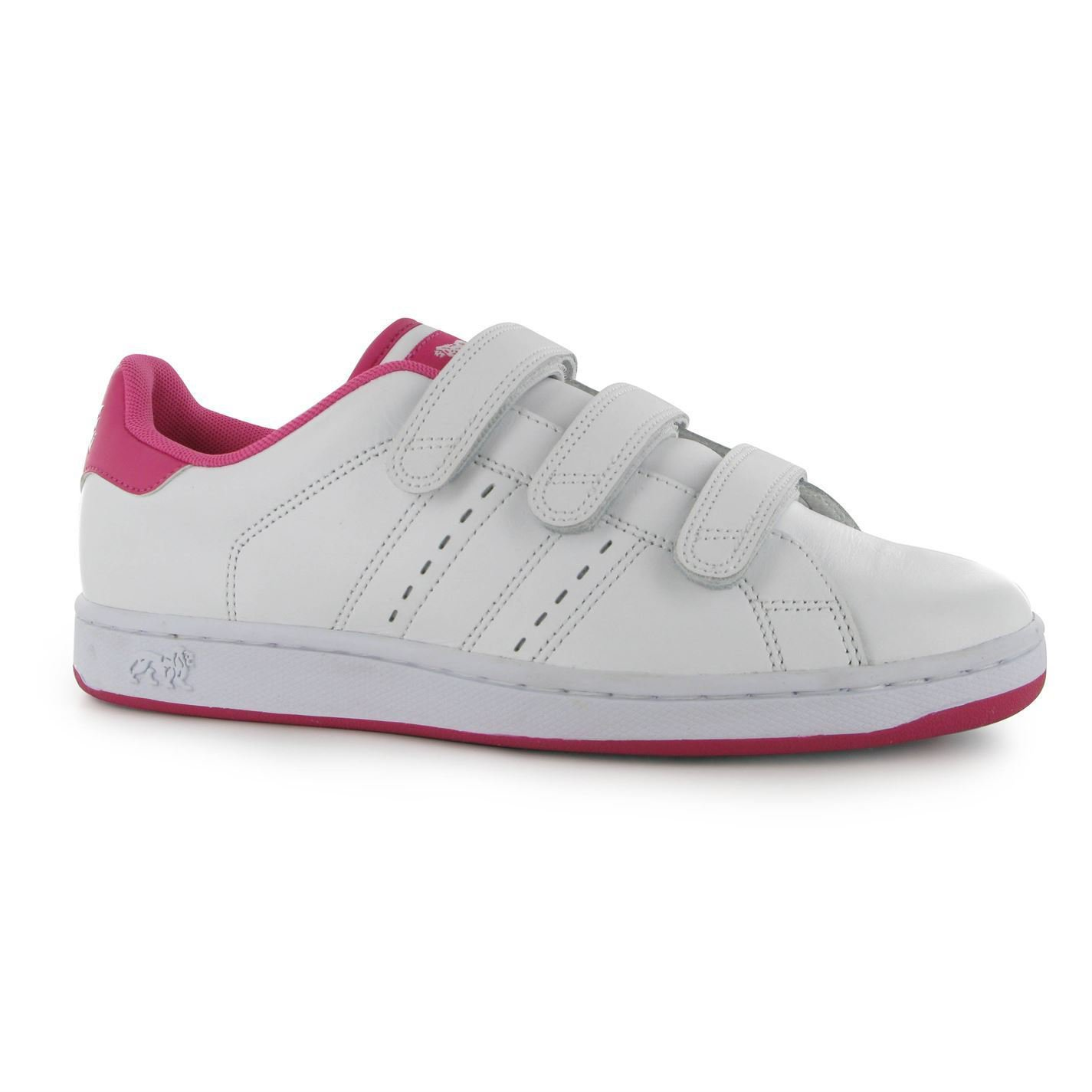 Lonsdale Womens Leyton Ladies Trainers Sport Shoes Leather Upper Casual Footwear