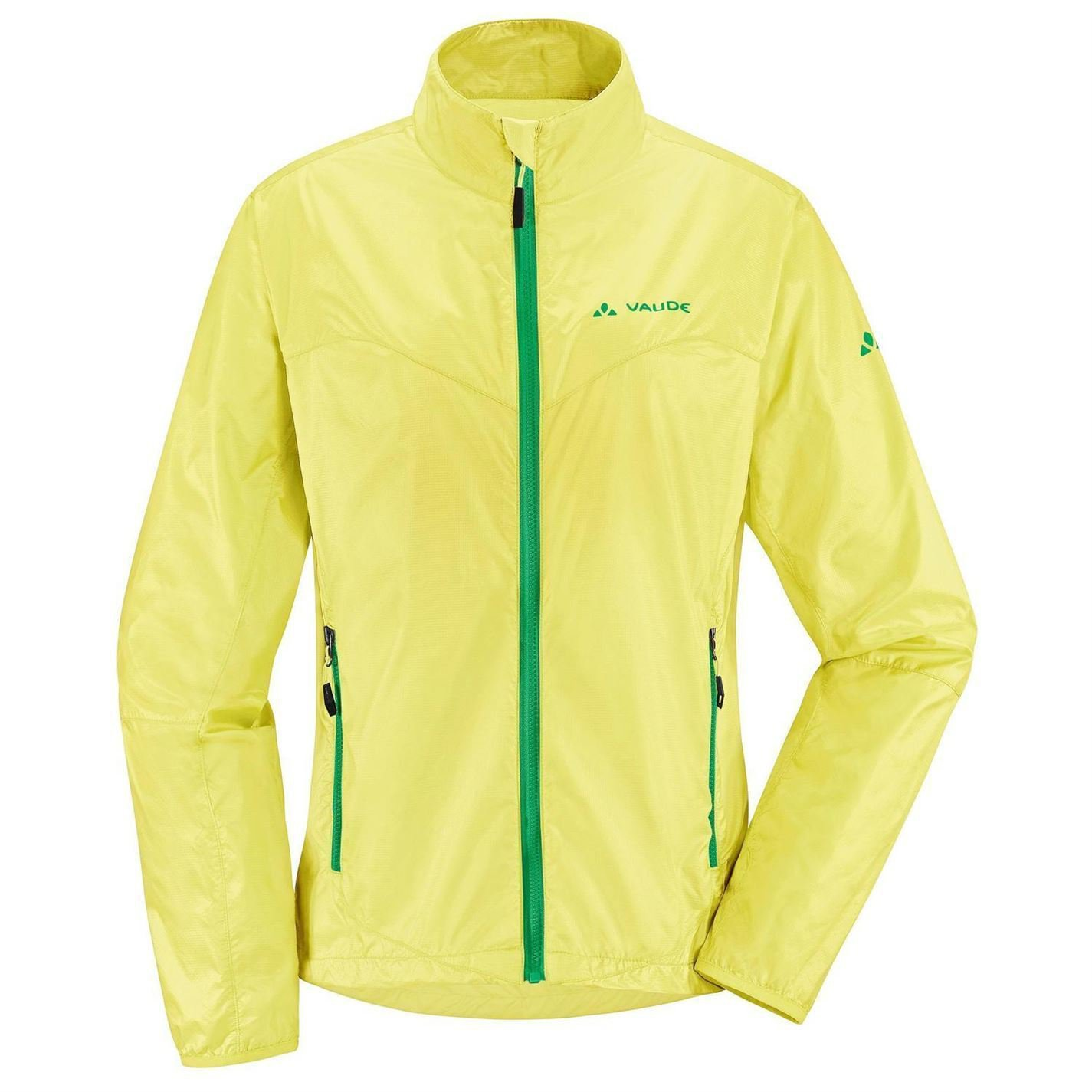 Vaude Womens Jacket Dyde Ladies Long Sleeve Zip Cycle Cycling