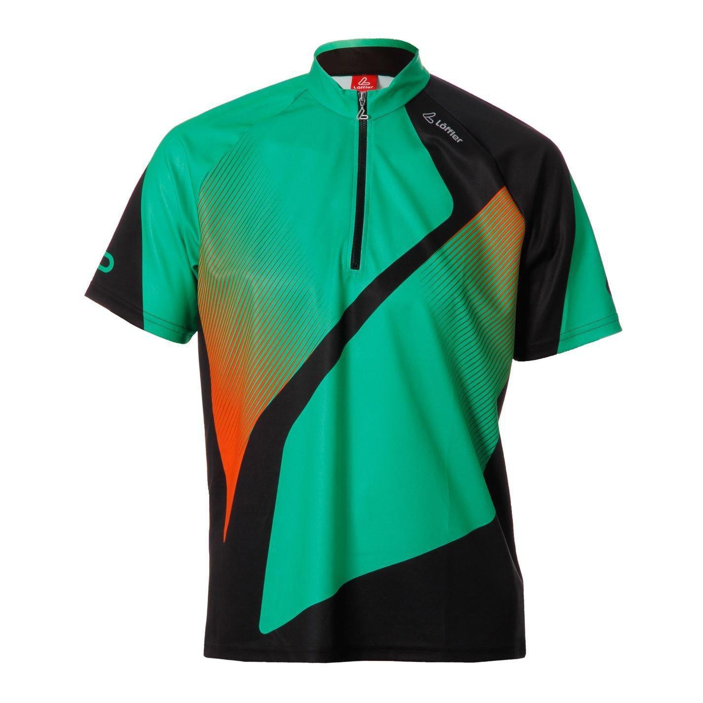 Löffler Mens TriActiveHZ Jersey Short Sleeve Cycle Cycling Sports Shirt Top