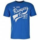 Rangers Mens Graphic Tee Short Sleeves Crew Neck Cotton T Shirt Top