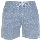 Cross Mens Hatch Geometric Swim Shorts Pants Bottoms Swimming Clothing