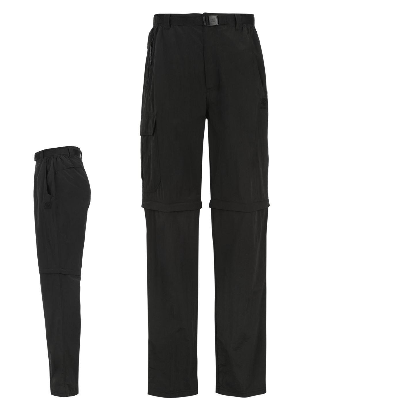 Karrimor Kids Aspen Convertible Hiking Walking Trousers Pants Junior