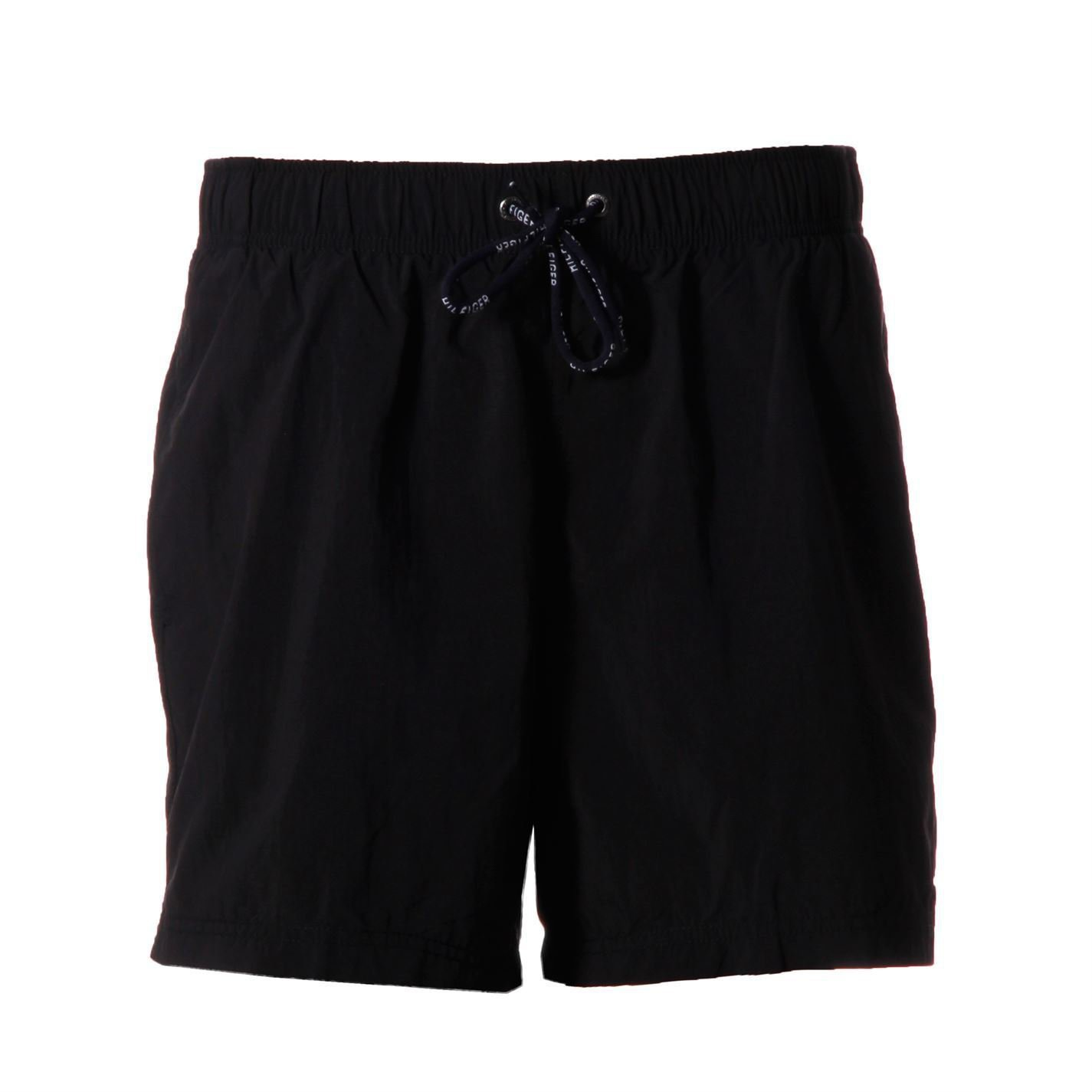 Tommy Hilfiger Mens Solid Trunk Swimming Pool Beach Boxer Bottoms Clothing