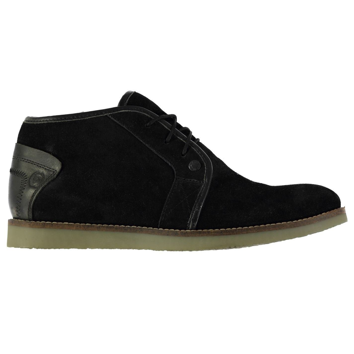 Firetrap Mens Waverly Chukka Boots Reinforced Heel Synthetic Sole Lace Up