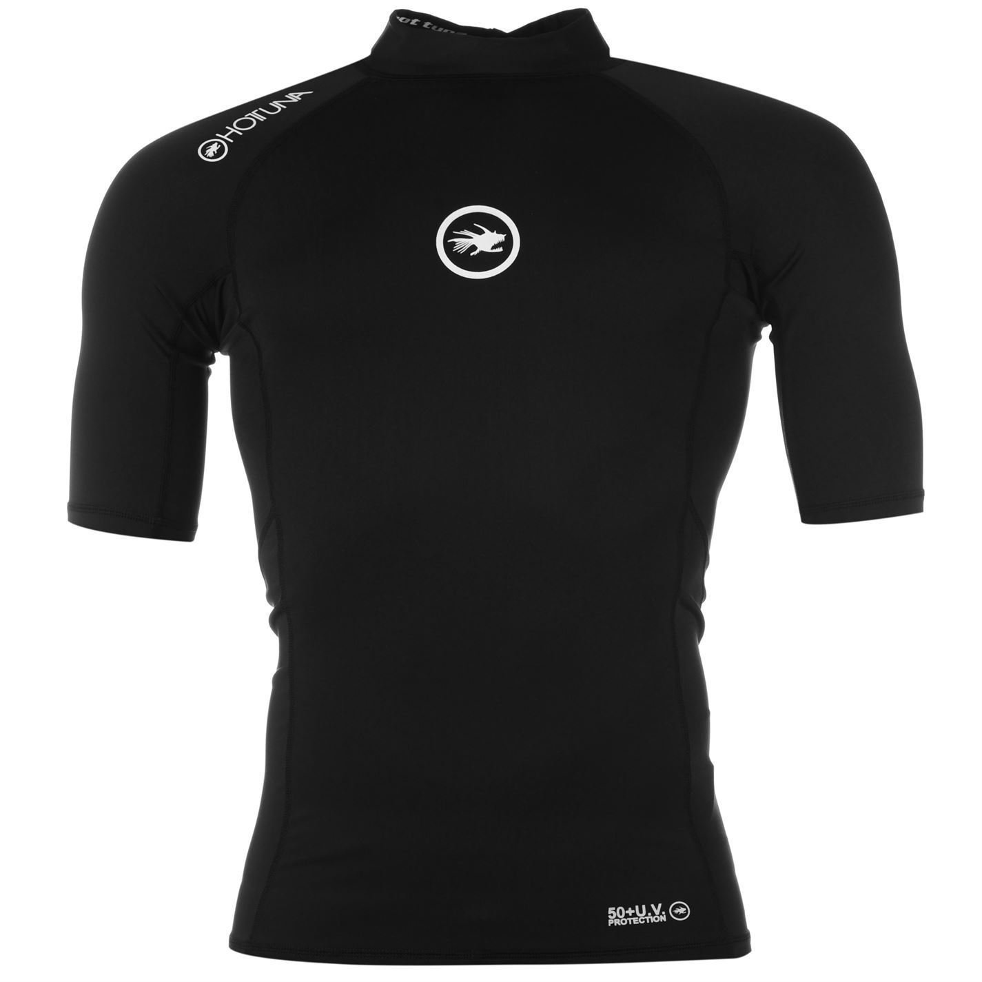 Hot Tuna Mens Rash Vest Short Sleeves High Neck Top Watersports Clothing