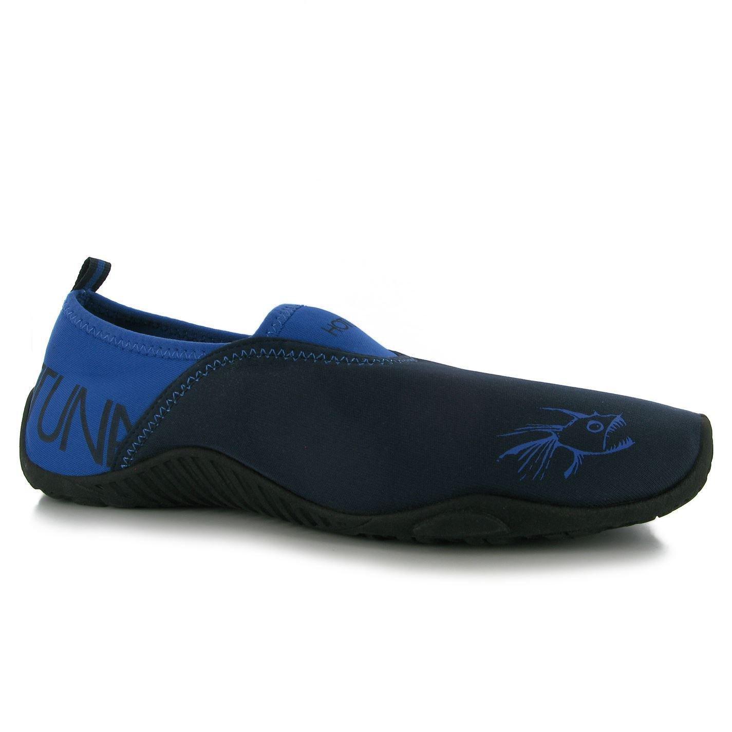 Hot Tuna Mens Splasher Shoes Pool Water Slip On Rubber Sole Swim Beach Sandal