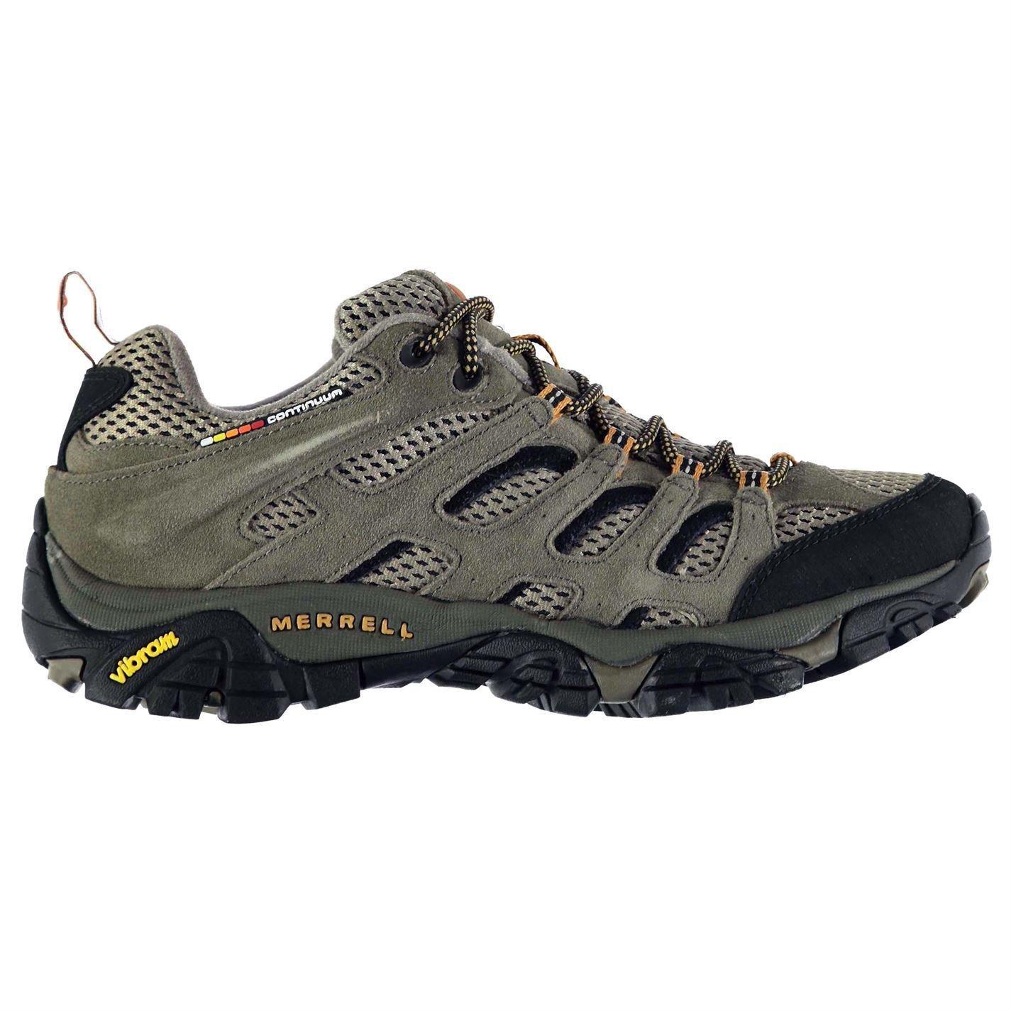 Merrell Mens Moab Ventilator Lace Up Walking Breathable Design Shoes