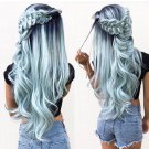 Ombre Blue Green Beauty Lace Front Wig 24-28 inches!!