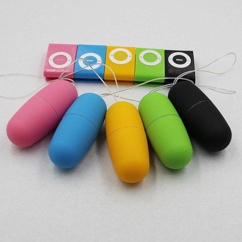 Wireless MP3 style Vibrator - remote control vibrator