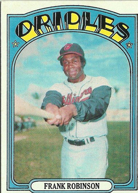1972 Topps Frank Robinson No. 100