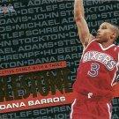 1995 NBA Hoops Dana Barros No. 208