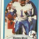 1990 Fleer Warren Moon No. 133