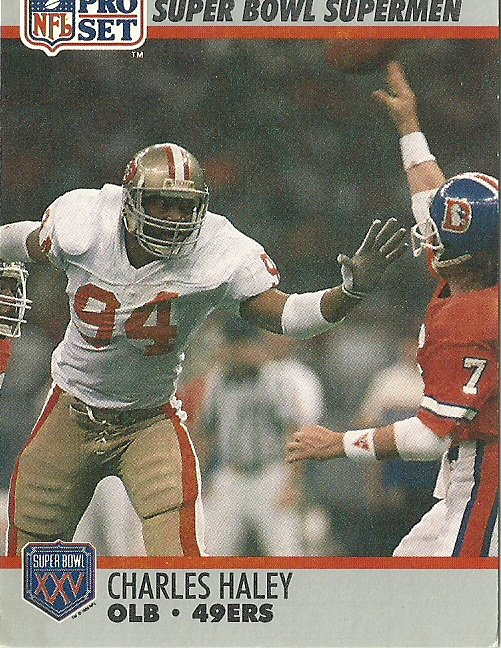 1990 Pro Set All-Time Team Charles Haley No. 95