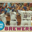 2017 Topps Heritage Milwaukee Brewers No. 397