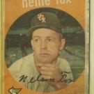 1959 Topps Nellie Fox No. 30