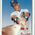 1992 Upper Deck Minor League Chipper Jones No. 165 RC