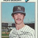 1978 Topps Ron Guidry No. 656