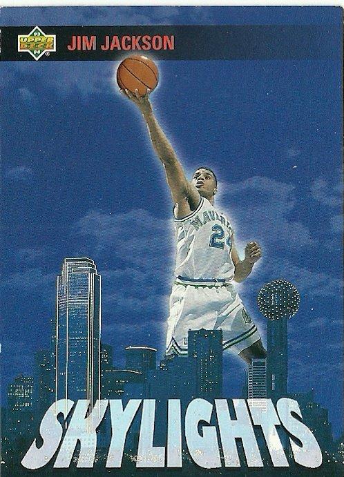 1994 Upper Deck Jim Jackson No. 477 Skylights