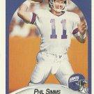 1990 Fleer Phil Simms No. 76
