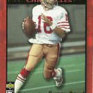 1995 Collector's Choice Montana Chronicles Joe Montana No. JM3