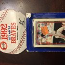 1992 Topps Team Set Atlanta Braves