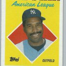 1988 Topps Dave Winfield No. 392
