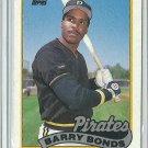 1989 Topps Barry Bonds No. 620