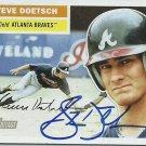 2005 Topps Heritage Steve Doetsch No. 172 RC Autograph