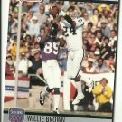 1990 Pro Set All-Time Team Willie Brown No. 102