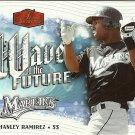 2006 Flair Showcase Wave of the Future Hanley Ramirez No. WF-13