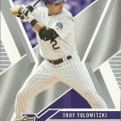 2008 Upper Deck X Troy Tulowitzki No. 38