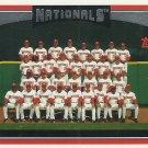 2006 Topps Washington Nationals No. 604