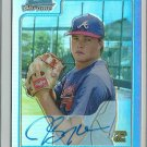 2006 Bowman Chrome Jeff Lyman No. BC238 RC Blue Refractor Autograph