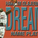 1999 Skybox Name Plates Hakeem Olajuwon No. 5 of 10