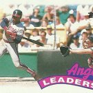 1989 Topps Los Angeles Angels No. 51