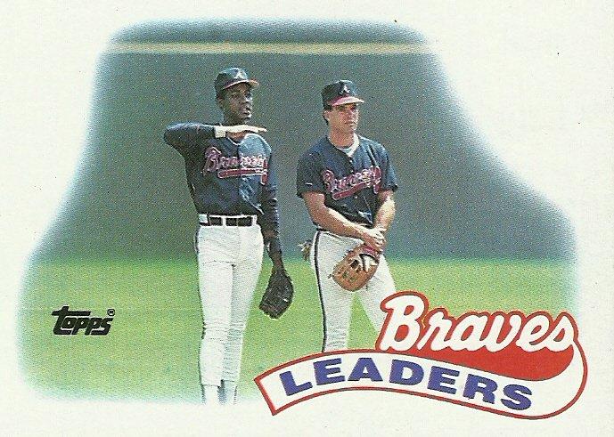 1989 Topps Atlanta Braves No. 171