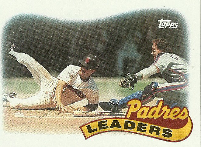 1989 Topps San Diego Padres No. 231