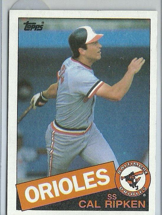 1985 Topps Cal Ripken Jr. No. 30