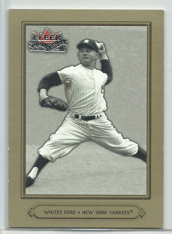2002 Fleer Fall Classic Whitey Ford No. 58