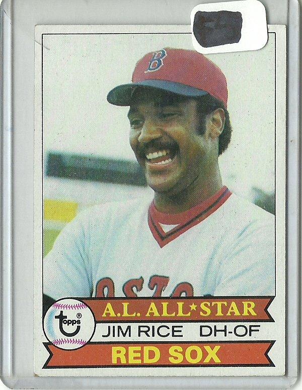 1979 Topps Jim Rice No. 400