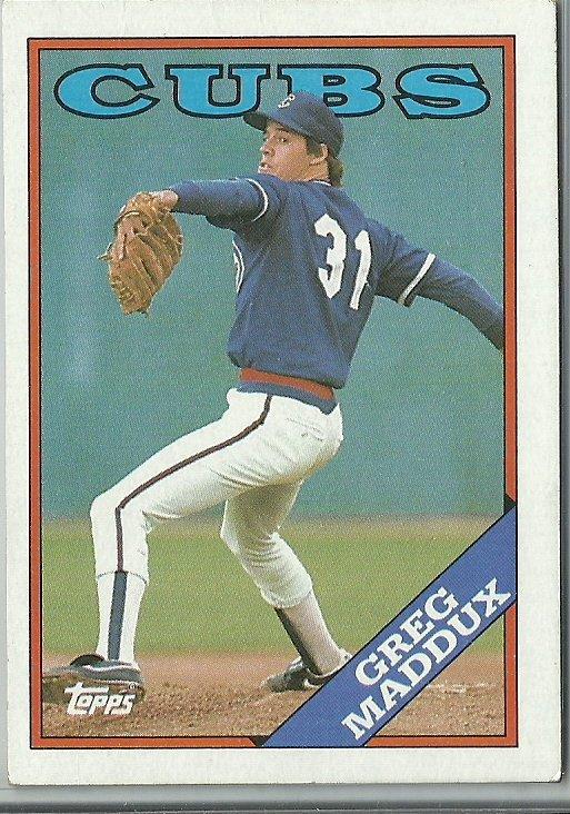 1988 Topps Greg Maddux No. 361