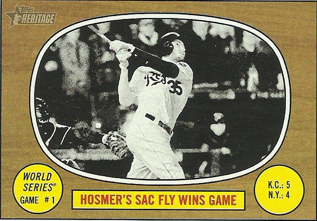 2016 Topps Heritage Eric Hosmer No. 151