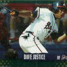 1995 Score Dave Justice No. 271 Gold Rush