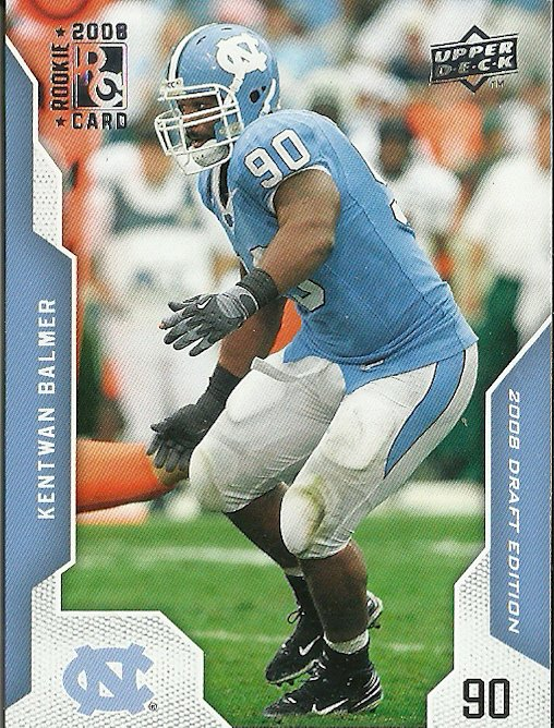 2008 Upper Deck Draft Edition Kentwan Balmer No. 35 RC