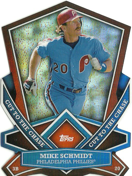 2013 Topps Cut to the Chase Mike Schmidt No. CTC-19
